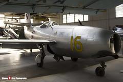 16 SP-GLK - 925 - Polish Air Force - Yakovlev Yak-23 - Polish Aviation Musuem - Krakow, Poland - 151010 - Steven Gray - IMG_9862