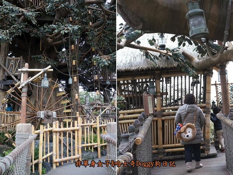 東京迪士尼樂園36魯賓遜家族大樹屋Swiss Family Treehouse