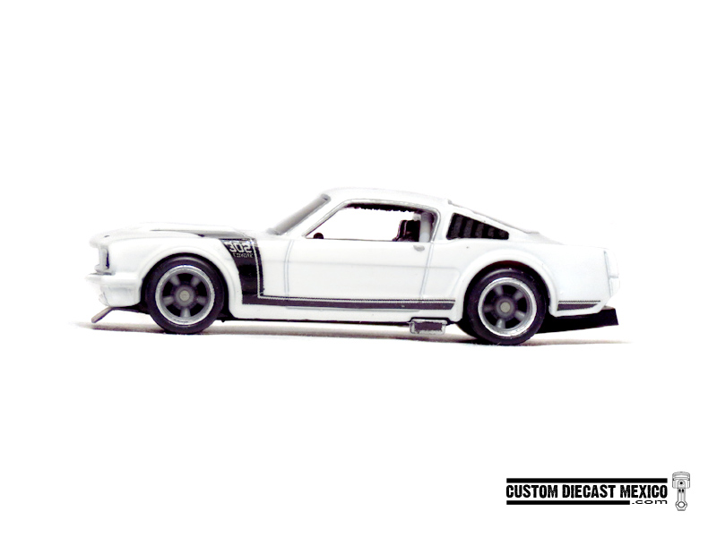 hot wheels ford mustang  u201965 track car  u2013 custom diecast m u00e9xico