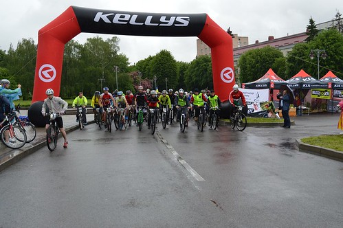 Вихідні у Рівному: велосипедисти долали 100-кілометровий марафон