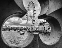 Through The Eye Of A Floret London by Simon & His Camera