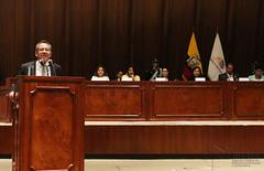 07/25/2016 - 12:34 - Quito, 25 jul (Andes).- El ministro de Educación Augusto Espinoza compareció en laComisión de Fiscalización de la Asamblea Nacional, para presentar pruebas de descargo ante el trámite de juicio político. ANDES/Micaela Ayala V.