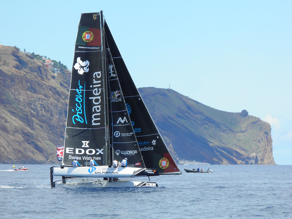 #extremesailingseries #visitmadeira #sailing  #racing  #madeiraisland    Let Us Get You There!  www.mlt.pt