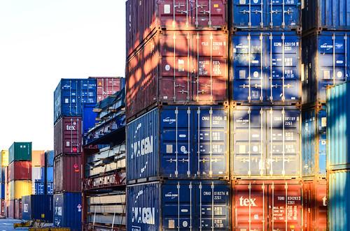 Container terminal, port de Walvis Bay