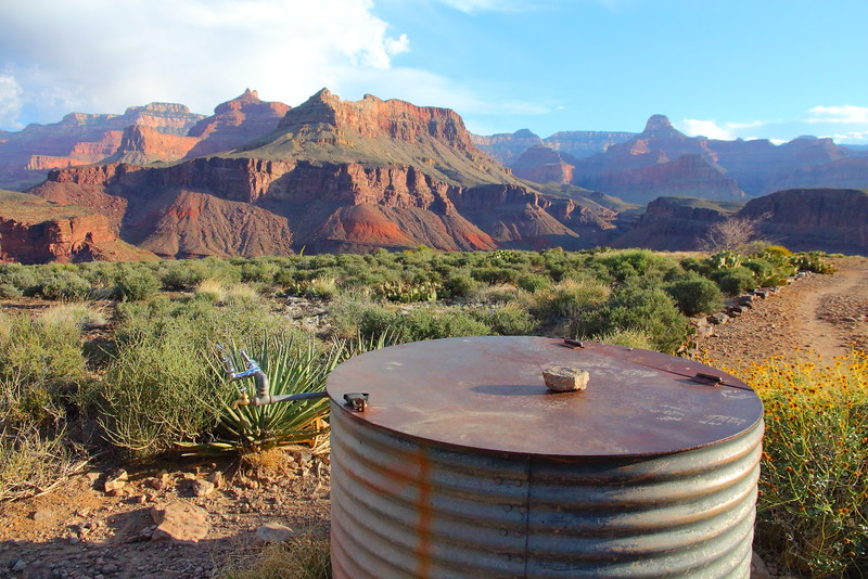 IMG_5849 Water Tank on Plateau Point Trail