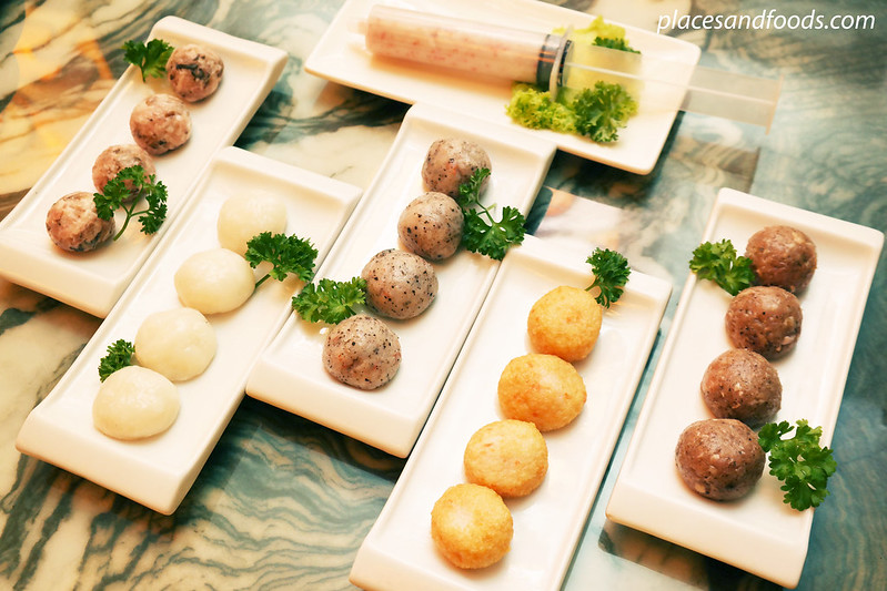 ye zi concept steamboat homemade meat balls