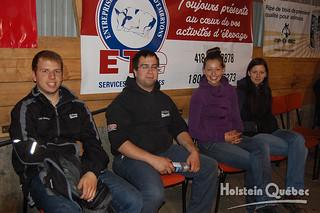 May 22 2015 - 4:18pm - Quelques bénévoles : Jean-Sébastien Bédard, Keaven Payeur, Patricia et Anne-Marie Auger