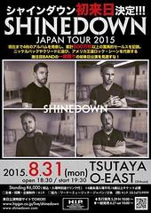 Shinedown in Tokyo, Japan! #ShinedownTokyo #Shinedown Info: http://ift.tt/1GtGzpD