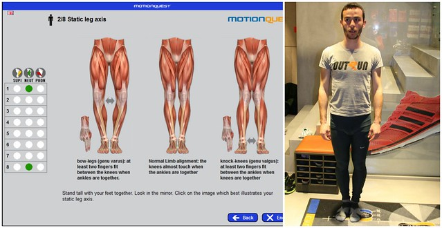 Απεικόνιση οθόνης (screenshot) και στάση δρομέα για την δεύτερη  άσκηση
