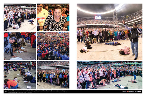 Prophet T.B. Joshua leads the entire stadium in a Holy Spirit fuelled time of 'Mass Prayer' as God's power descends throughout the arena to bring freedom in the place of bondage.