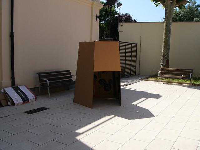 ART EN FAMÍLIA. Una cabana, el meu lloc al Prat, 31 de maig 2015