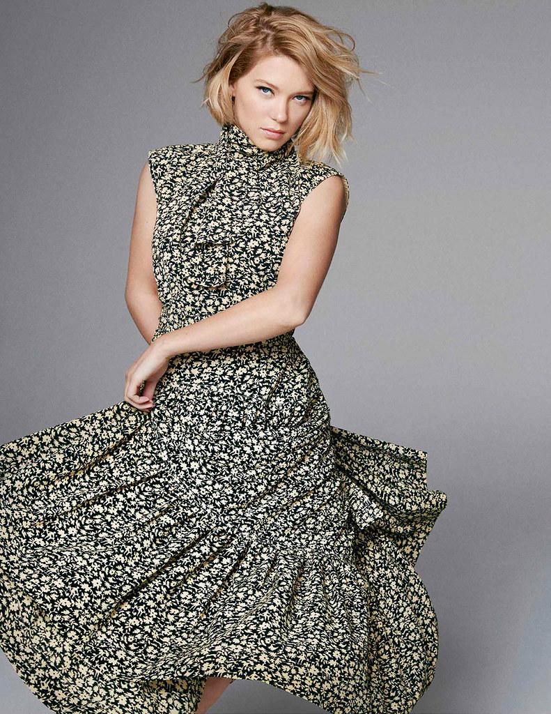 Леа Сейду — Фотосессия для «Elle» UK 2016 – 5