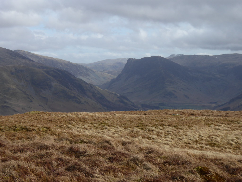 Fleetwith Pike from Mellbreak