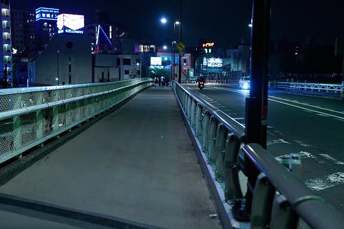 池袋 歩道と車道