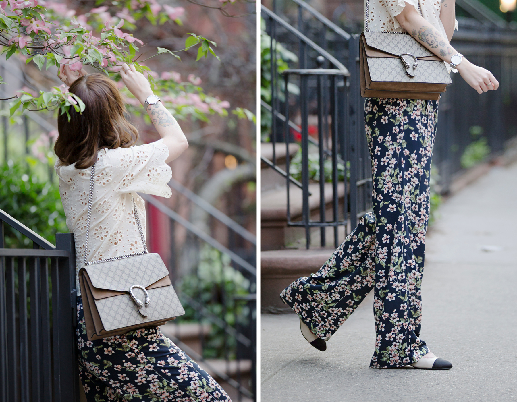 new york city streetstyle fashion fashionblogger mint&berry persol mister spex gucci dionysus luxury fashion styling look summer flowers floral cats & dogs modeblog ricarda schernus fashionblogger germany 1