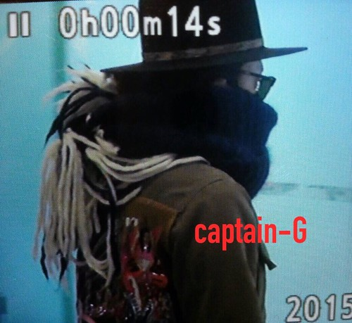 Big Bang - Gimpo Airport - 27feb2015 - G-Dragon - Captain G - 02