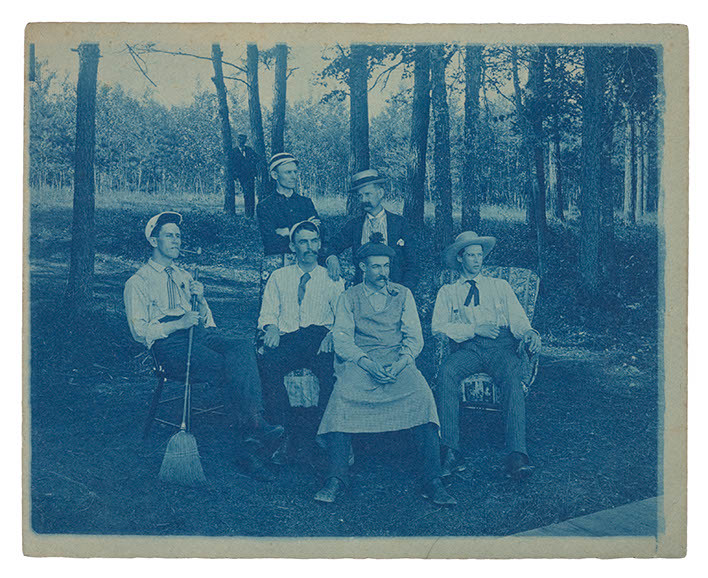 Cyanotype - Group Portrait