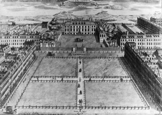 Bloomsbury Square in London, 1725