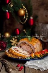 Pork Loin Stuffed with Chicken Breast