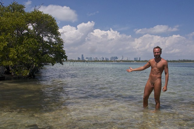 naturist 0000 Key Biscayne, Miami, Florida, USA