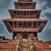Ancient Temple in Bhaktapur Nepal by Speaking Lens