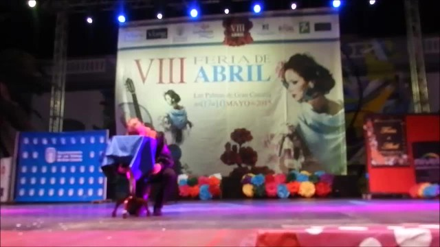 Ballet Embrujo y Magia de Yor-El 3 VIII Feria Abril Las Palmas de Gran Canaria