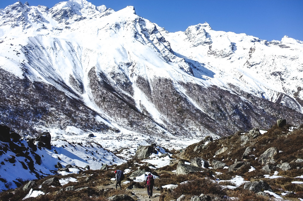 Kyanjin Gompa, Langtang Valley Trek, Nepal Langtang
