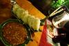Cambodia 2015, Cambodian Eats, Phnom Penh, stewed pork and rice cakes