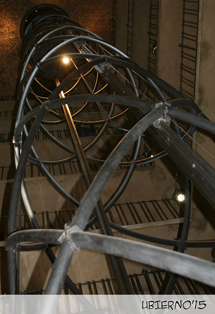 Staircase inside the clock tower