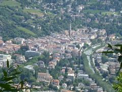 Blick nach Meran vom Marlinger Höhenweg