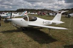 G-CCEF Europa Popham