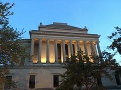 Scottish Rite Temple at twilight from S Street NW, Washington, D.C.
