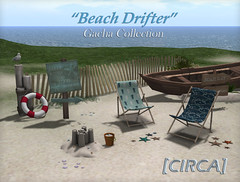 "[CIRCA] - ""Beach Drifter"" Gacha Collection - Lifestyle ad"