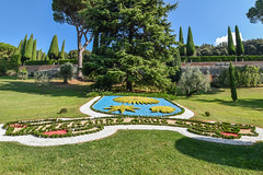 Pope Francis Coat of Arms, Gardens of the Pontifical Villas, Castel Gandolfo