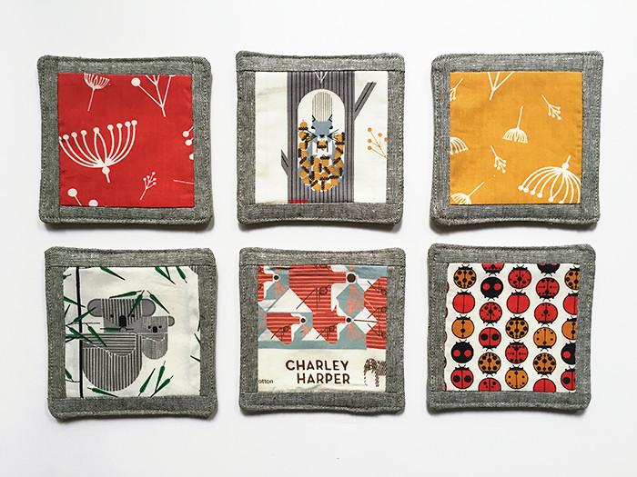 Charley Harper Drink Coasters