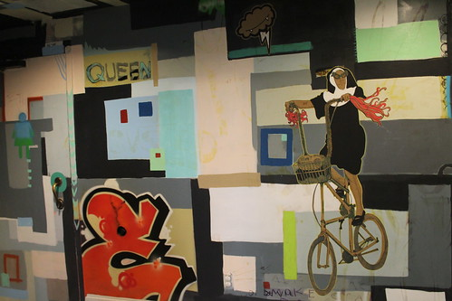 Asheville Art Museum mural