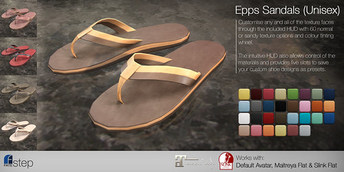FATEstep - Epps Sandals
