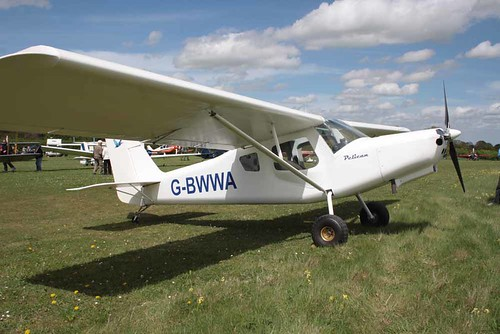 G-BWWA Ultravia Aero Pelican Club GS [PFA 165-12242] Popham