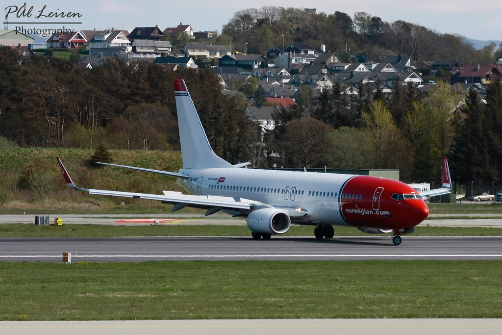 LN-NHD - B738 - Norwegian
