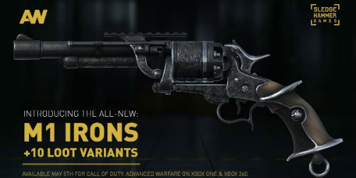Call of Duty: Advanced Warfare gets new 'M1 Irons' Weapon DLC on  May 5