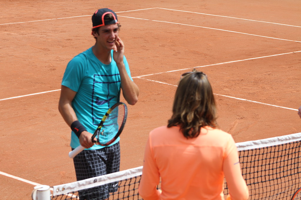 Thanasi Kokkinakis and Amélie Mauesmo