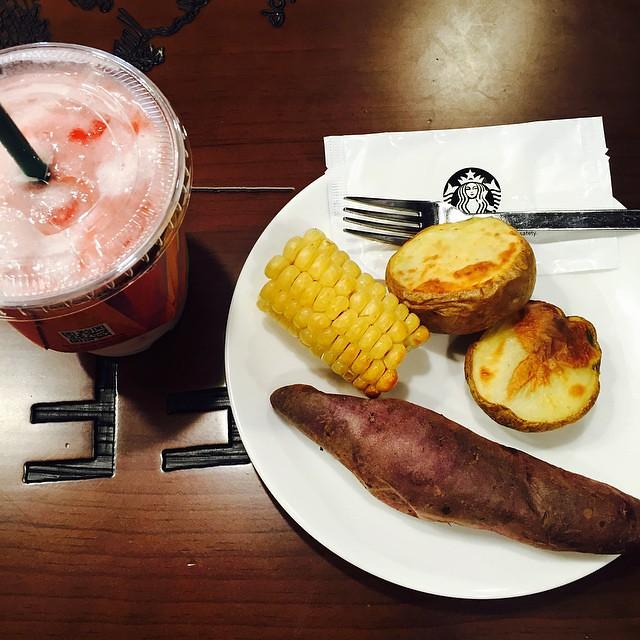 오랜만에 먹는 #스타벅스 #옥고감 #starbucks #food  #coffee