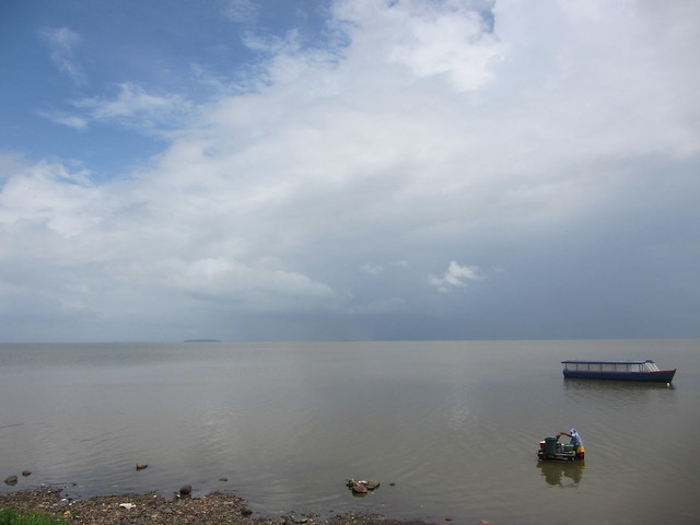View  of Lake Nicaragua from San Carlos