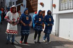 Paseo por el pueblo cabilas y cuarteles Antes de Moros y cristianos,Mojacar