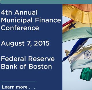 Municipal Finance Conference 2015