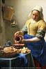 La représentation continue 1823 - Johannes Vermeer, 1632-1675, La Laitière,  v. 1658-61, dét. — Rijksmuseum, Amsterdam, Pays-Bas