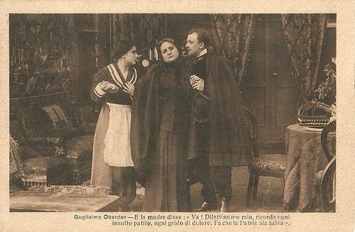 Alberto Collo and Ida Carloni Talli in Guglielmo Oberdan, il martire di Trieste