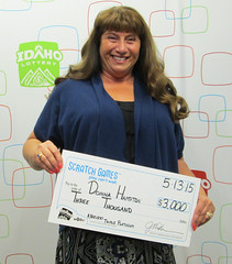 Donna Hampton - $3,000 $300,000 Triple Platinum