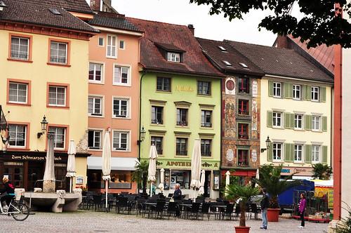 Bad Säckingen Hochrhein Impressionen Innenstadt Marktplatz Restaurants Foto Brigitte Stolle