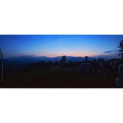 The sky at twilight #Giaveno #aboutValsangone #igerstorino #igerspiemonte
